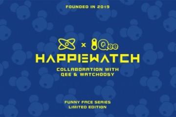 Qee × HappieWatch最新联乘腕表得物独家首发——打造年轻人的腕上潮流艺术品
